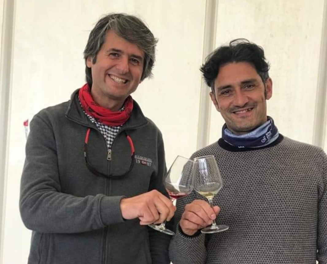 The Volcanic Nature of Emilio Sciacca, the entrepreneur, and Gianluca Torrisi, project manager of Sciaccaetnawine.
